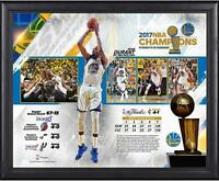 "Golden State Warriors Framed 16"" x 20"" 2017 NBA Finals Champions Collage"