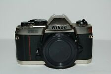 Nikon FM10 35mm SLR Film Camera Body Only READ Description
