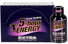 5 Hour Energy Shot Extra Strength Grape 12 Count 1.93 oz Sugar Free