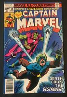 CAPTAIN MARVEL. NO.58. BRONZE AGE 1978. DRAX THE EDESTROYER.  VFN/NM.  MARVEL