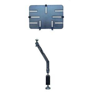 Rollstuhl Bett Lager Halterung mit Tischklemme Tablet iPad Aluminium 10-13 Zoll