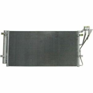 New KI3030119 A/C Condenser, Factory Finish, Aluminum For Kia Rondo 2007-2012