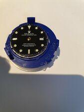 Rolex 3185 complete movement revised, with t25 dial, parachrome bleu