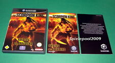 Scorpion King ascenso del akkadiers casi sin arañazos Nintendo GameCube