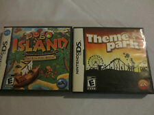 Nintendo DS Theme Park and Pogo Island Complete with manuals tested