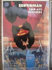 "Superman ""For all Seasons"" Book 3 Jeph Loeb Tim Sale Bjarne Hanse DC Comics 1998"