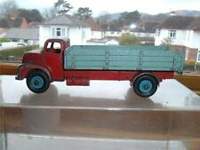 DINKY LEYLAND COMET RED CAB MID BLUE BACK RARE COLOURS CRACKED CAB 2 BODY C PICS