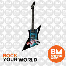 ESP LTD EX Series Limited Edition Avatar Graphic Explorer Electric Guitar EMGs
