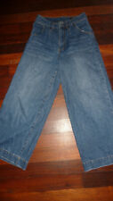 wide leg high waisted jeans by RES DENIM w27 - suit larger 10-12