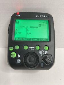 YONGNUO Flash Trigger YN-E3-RT II E3-RT E3RT TTL Transmitter (USED NICE)