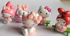 5 X HELLO KITTY FIGURES – TOY FIGURES/ CAKE TOPPERS
