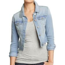 WOMENS LADIES GAP OLD NAVY DENIM WESTERN CROPPED JEAN JACKET= XL