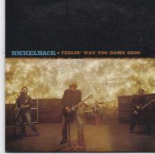Nickelback-Feelin Way Too Damn Good cd single