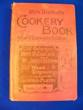 Mrs Beetons Cookery Book 1899