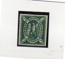 Bolivia Sello nº 1 del año 1867-68 (DE-486)