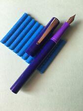 Pluma Estilográfica Waterman Azul /Lila Fountain Pen