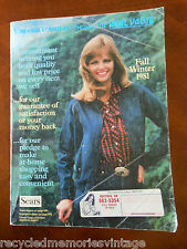 magazine catalog Sears Fall and Winter 1981