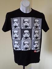 New - Star Wars Stormtroopers  Adult Size Medium (M) Black T- Shirt