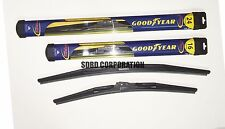 2013-2014 Chevrolet Spark Goodyear Hybrid Style Wiper Blade Set of 2