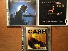 Johnny Cash [3 CD Alben] The Definitive Collection + Star Power + San Quentin