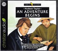 NEW Hudson Taylor An Adventure Begins Trailblazer Audio Book 3 CDs Christian