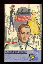 Marabout Mademoiselle 27 Tim TIMMY : La famille Andrieux 1957