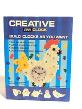 Creative Clock 8001 Build 5 Different Clocks As You Want Open Box Unused Item