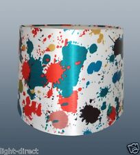 "SPLAT N SPLODGE COLOUR MIX 12"" LAMPSHADE CEILING OR TABLE"