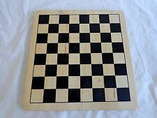 """CHESS CHECKERS CHINESE CHECKERS 11"""" x 11"""" Solid Wood Game Board"""