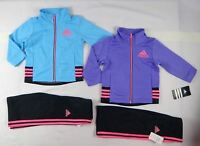 Adidas baby girls' set, 2 piece Tracksuit Jacket & pants sizes 12, 18, 24 months