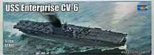 Flugzeugträger CV-6 Enterprise,US Navy,Carrier,WW II,Trumpeter,06708, 1:700,NEU