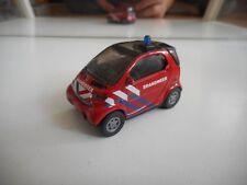 Siku Smart Fortwo Brandweer in Red
