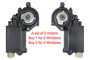 Window Motor Set for 1976-82 Corvette 1976-81 Camaro Firebird Chevy & GMC Trucks
