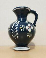 Gmundner Keramik Vase Tischvase blau alt Retro GK01 (1911DE2#) 04/2020