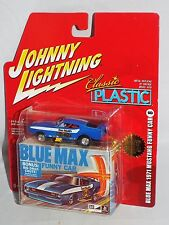 Johnny Lightning 2005 Classic Plastic #8 Blue Max 1971 Mustang Funny Car