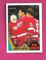 1987-88 OPC # 123 WINGS ADAM OATES  ROOKIE NRMT-MT CARD (INV# D0695)