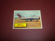 PLANES trading card #32 TOPPS 1957 Army Navy Marines Air Force PRINTED IN U.S.A