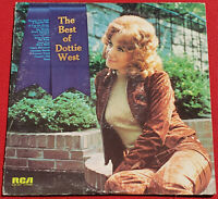 The Best Of Dottie West 1972 Original Vinyl Album - Careless Hands, Country Girl