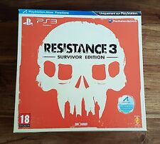 RESISTANCE 3 SURVIVOR EDITION Collector Jeu Sony Playstation 3 PS3 Neuf Scellé