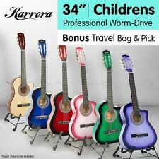 Karrera Childrens Acoustic Guitar - Purple