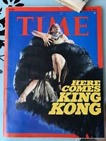 Oct 25, 1976- TIME Magazine- Here Comes King Kong With Extra