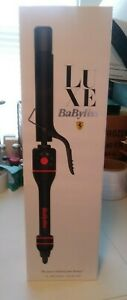 Babyliss Luxe 1in Professional Curling Iron Black With Red Trim