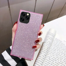 Bling 3D Soft TPU Square Phone Case Cover Shell For iPhone 11 7 8 Plus XS MAX XR