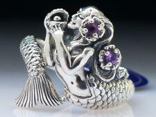 Mermaid Wrap Amethyst Gemstone Sterling Silver Ring By Peter Stone Fine Jewelry