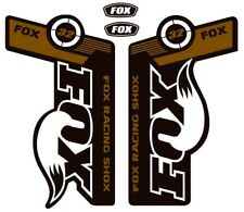 Purple 803-01-124 Fox Suspension Heritage Decal Kit for Forks and Shocks