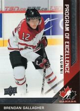 2013/14 Upper Deck Team Canada - #215 BRENDAN GALLAGHER [Program of Excellence]