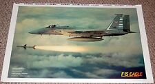 F-15 EAGLE FIGHTER JET Firing Sparrow Missle Poster Proof Bigfoot Canada