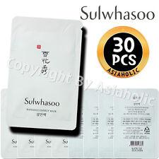 Sulwhasoo Radiance Energy Mask 5ml x 30pcs (150ml) Sample AMORE PACIFIC