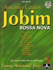 Jamey Aebersold Jazz Play-Along 98 Antonio Carlos Jobim Bossa Nova Noten mit CD