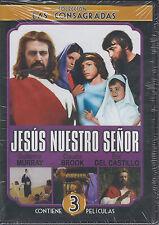 JESUS NUESTRO SENOR- 3 PELICULAS EN 1 -DVD-Jesus, El Niño Dios(1972)